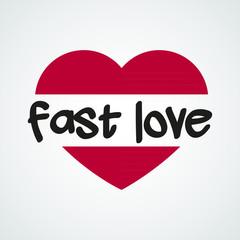 Fast love logo