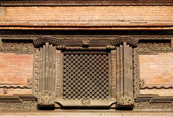 Window in Hanuman Dhoka Durbar