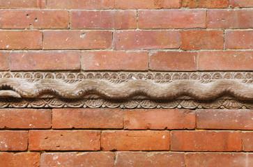 Wall and wooden work in Hanuman Dhoka Durbar