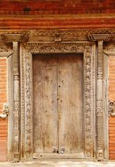 Ancient door of Hanuman Dhoka Durbar