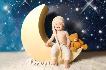 Baby Neugeborenes Mond