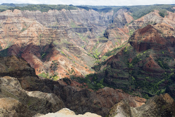 beautiful part of earth - waimea canyon, kauai, hawaii