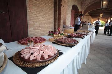 buffet catering piatti tipici cucina tradizionale