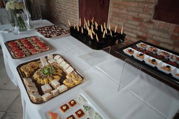 buffet antipasto servizio catering