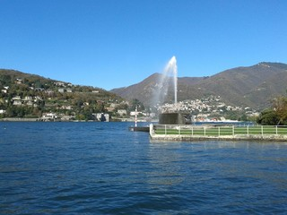 Lago di Como viale Geno Fontana