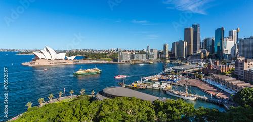 Leinwanddruck Bild Baie de Sydney