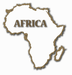 Africa With Rough Edges