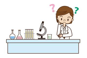 試行錯誤中の女性研究者