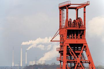 Energie aus Kohle, Zechenturm