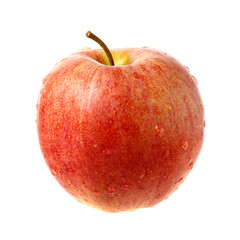 Apple with droplets