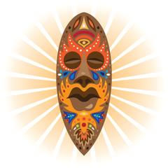 mask. africa