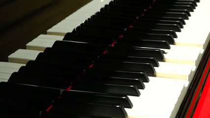 Mistery Concept: Acoustic Piano Keyword Playing on it own
