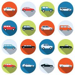 Car vector icons