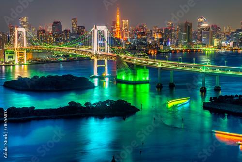 Deurstickers Japan Tokyo, Japan.
