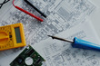 Elektronik Elektrik Elektriker Schaltpläne Werkzeuge - 78560573
