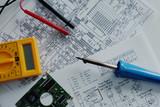 Elektronik Elektrik Elektriker Schaltpläne Werkzeuge