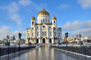 Храм Христа Спасителя, Патриарший мост, Москва
