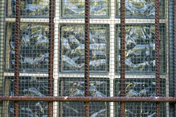 barred window