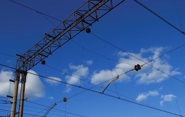 Electrical railway line