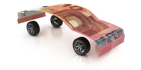10 Euro auf Rädern