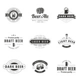 Beer Retro Vintage Labels Hipster Logo design vector typography - 78564526