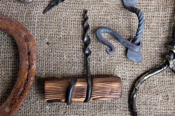 Штопор с деревянной рукояткой