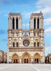 Notre Dame at sunrise - Paris, France