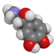 Adrenaline (epinephrine) hormone and neurotransmitter