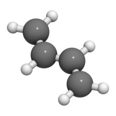 Butadiene (1,3-butadiene), the building block of ABS plastic