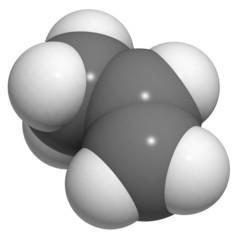 Propylene (propene), polypropylene (PP, polypropene) plastic