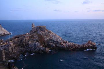 portovenere chiesa san pietro golfo dei poeti  liguria