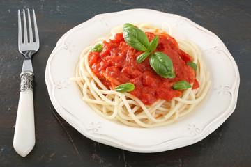 pasta spaghetti al pomodoro