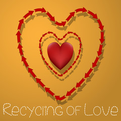 Recycling of Love