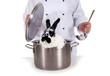 Kaninchen im Kochtopf