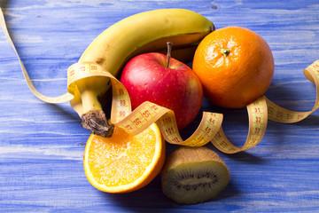 fruit witn tape measure