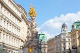 Marian columns known as plague columns, Vienna