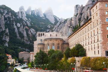 Benedictine Abbey at Montserrat,  near Barcelona