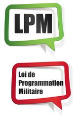 LPM - loi de programmation militaire