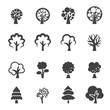 Obrazy na płótnie, fototapety, zdjęcia, fotoobrazy drukowane : tree icon