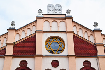 Building of the synagogue