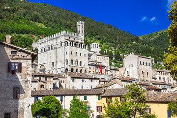 medieval towns of Italy  - Gubbio