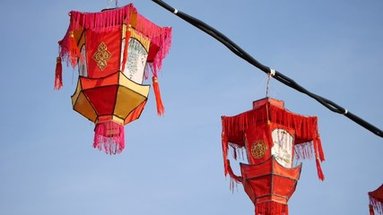 Chinese lanterns - Chinese New Year