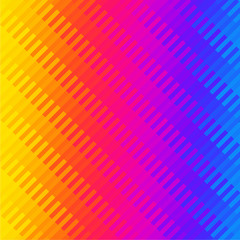 Color gradient, yellow, magenta, cyan. Mosaic background