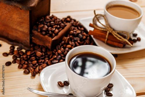 Fotobehang Cafe Cup of coffee