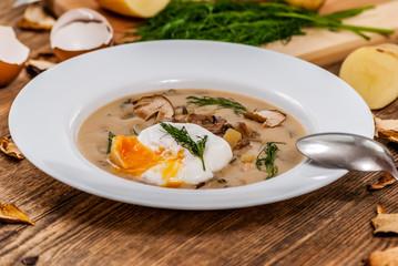 Czech dill soup