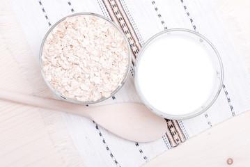 raw oatmeal diet food on board
