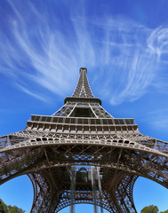The best-known in the world - Eiffel Tower