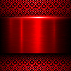 Background red metal texture