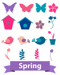 Spring icons