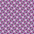 Bright  pattern, azure-purple